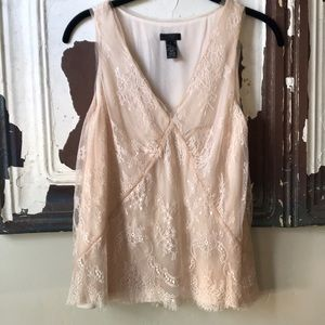 J Crew Collection Lace Shell